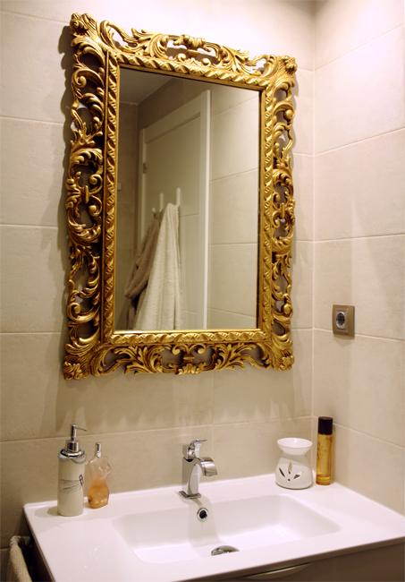Lavabo-espejo-dorado